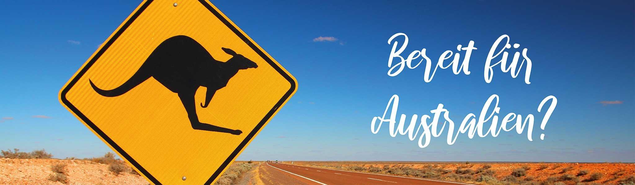 Bereit für Australien?