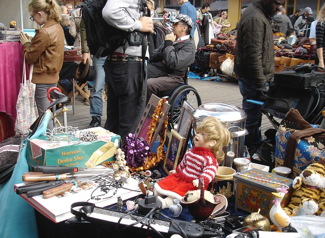 Flohmarkt-Paris