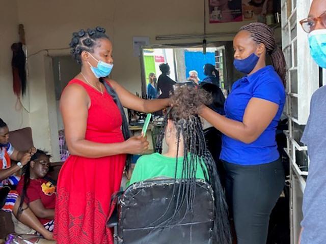 Frisör-Ruanda