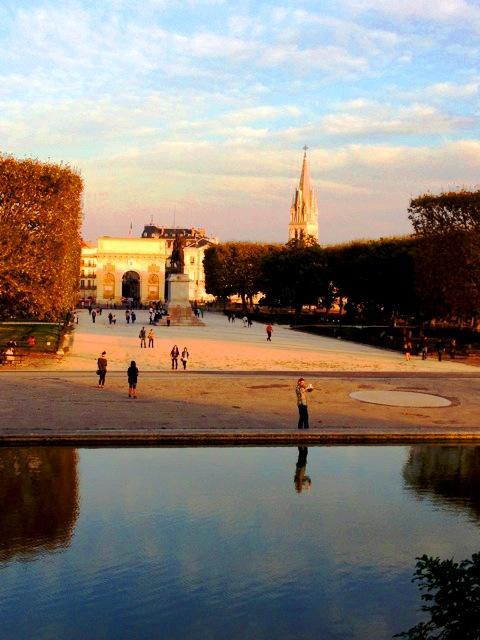 Place Royal du Peyrou, ein kleinerer Park Montpelliers