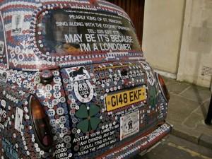 London Cab Sprachaufenthalt