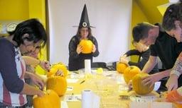 Halloween Sprachaufenthalt Irland Kürbis