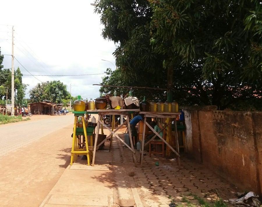 abomey-benzinverkauf