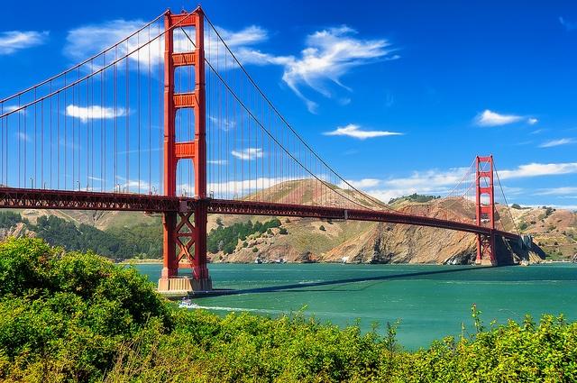 San Francisco Sehenswürdigkeiten Golden Gate