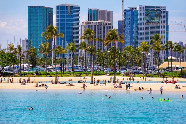 Strand in Honolulu