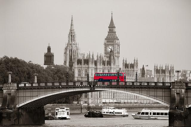 Sprachreise London Bus