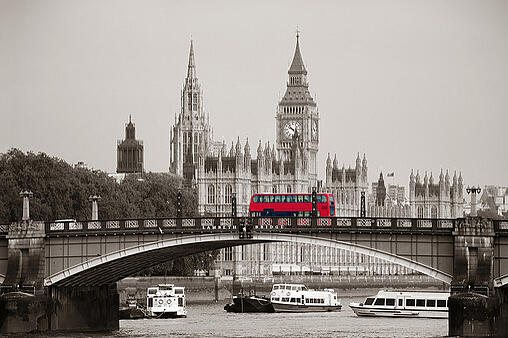Sprachreise London Bus
