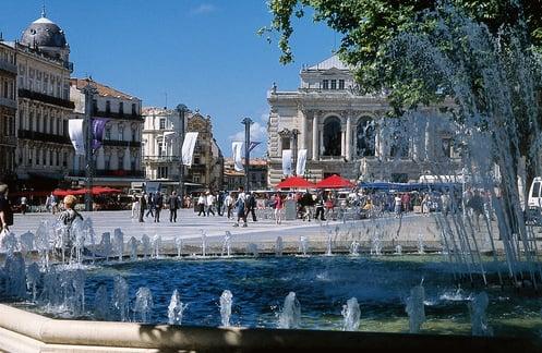 Montpellier : Südliches Flair.