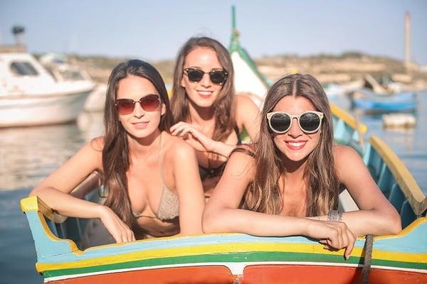 Malta-Sommer-Maedchen