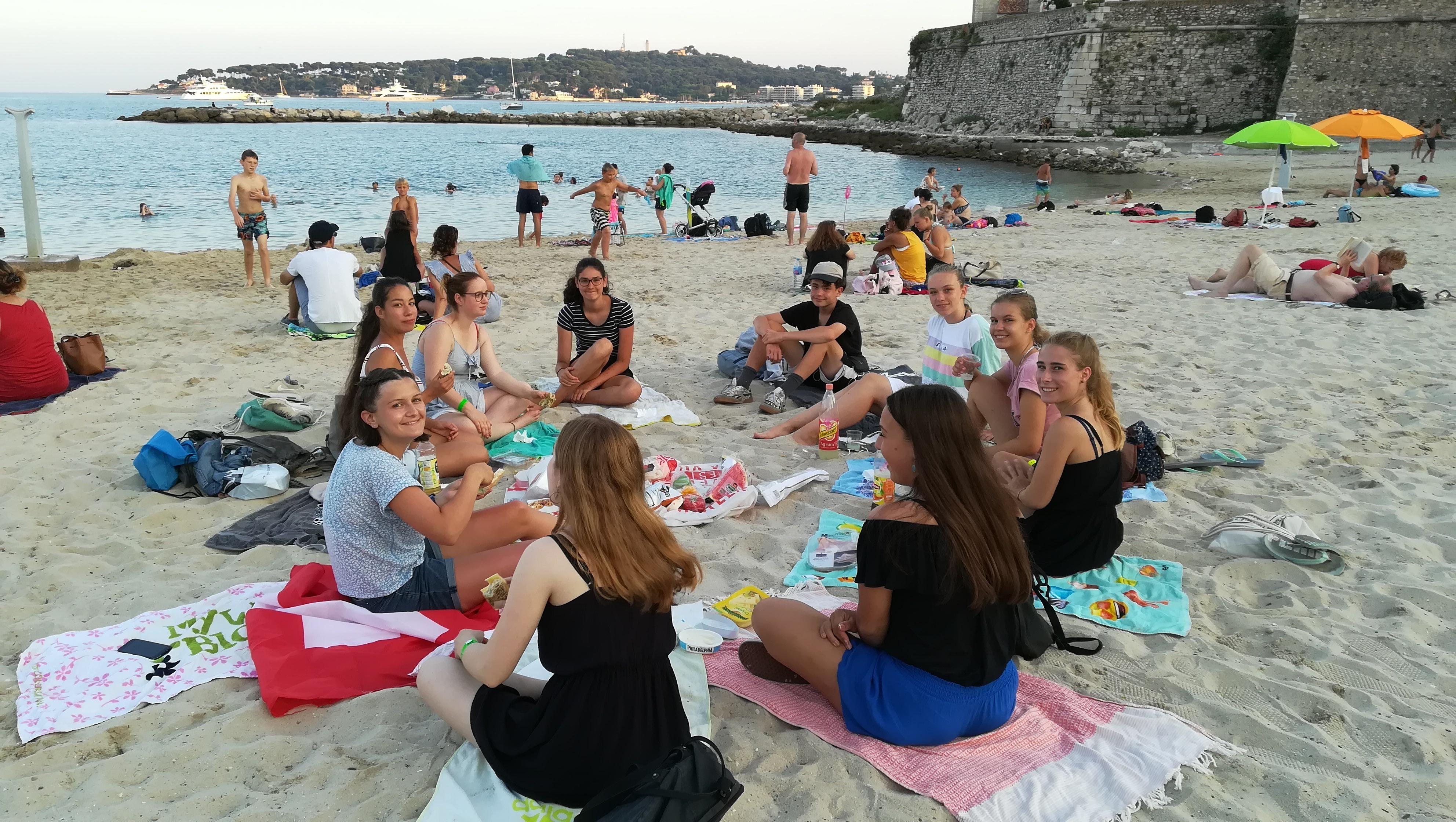 Jugendsprachkurse Frankreich: tolle letzte Wochen