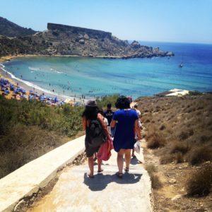 Jugendsprachkurse 2016 Woche 1 in Malta