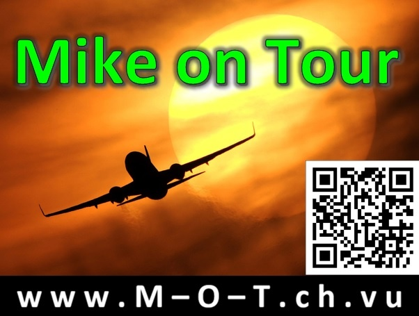 Ab nach Hollywood! Mike on Tour...