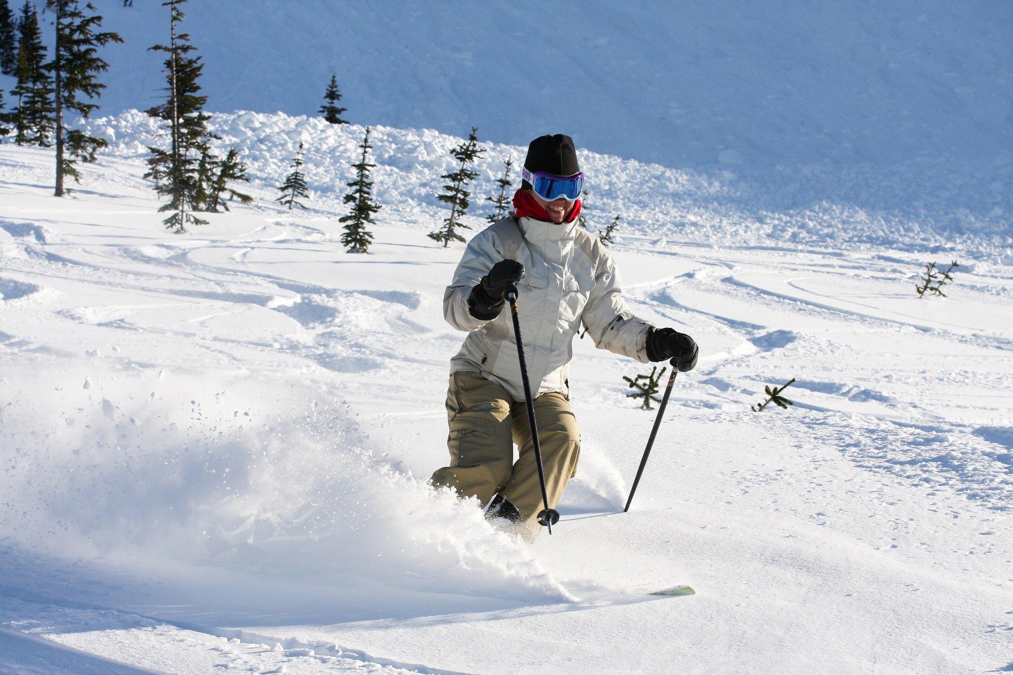 Englisch lernen und Ski fahren in Whistler