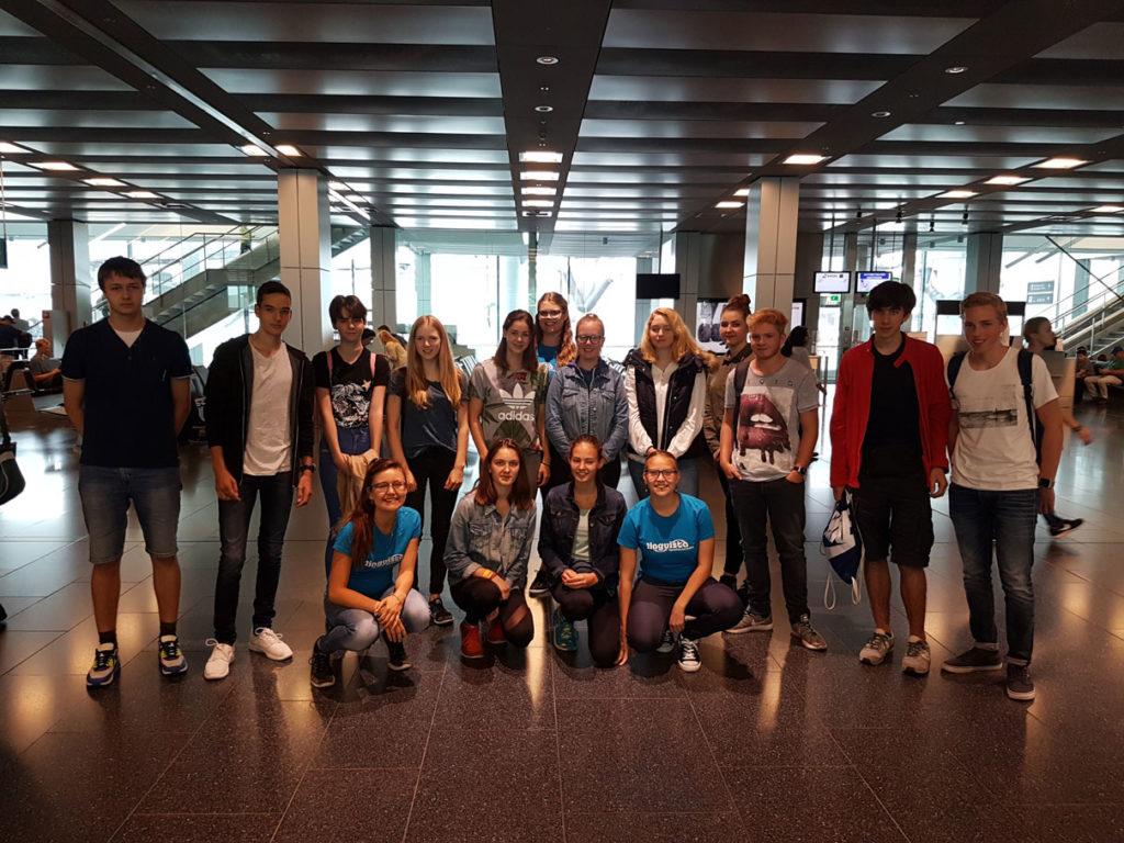 Jugendsprachkurse 2017: Woche 1 in England