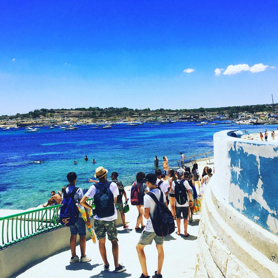 Jugendsprachkurse 2017: Woche 1 in Malta