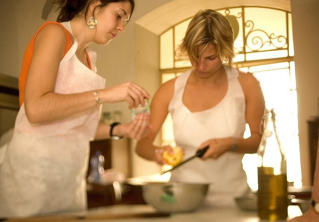Beyond the pasta - Italienisch lernen im Hause des Lehrers