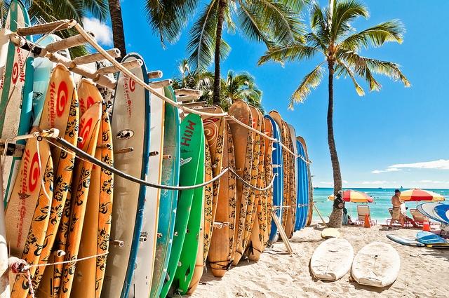 Sprachaufenthalt Hawaii USA: Englisch lernen und Surfen