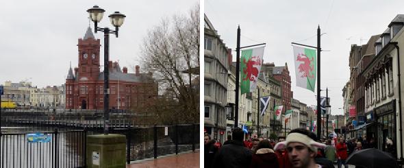 Cardiff im Rugby-Fieber #linguistaunterwegs