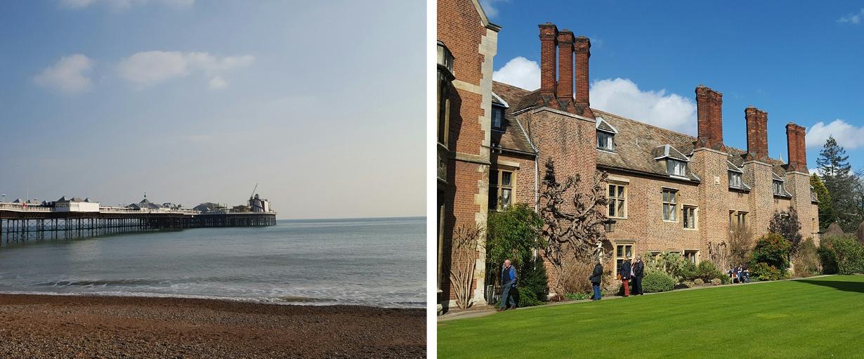 Start von 12 Wochen Brighton - Erfahrungsbericht