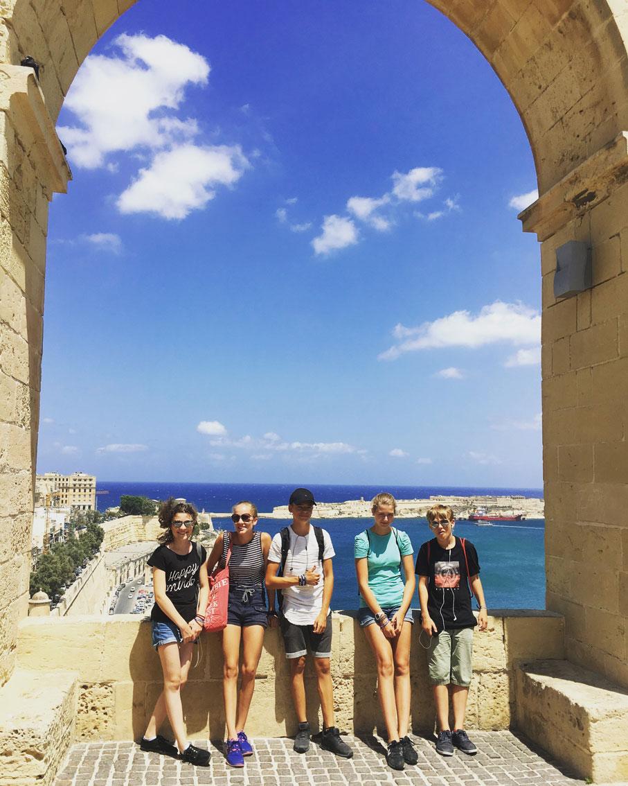 Jugendsprachkurse 2017: Woche 6 Malta