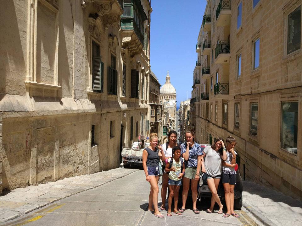 Jugendsprachkurse 2017: Woche 4 Malta