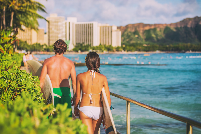 Traumdestination Hawaii - Honolulu Sprachaufenthalt